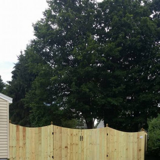 wood fencing in syracuse ny