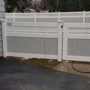 custom vinyl fence Westvale, New York.