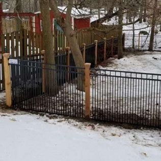custom wood and aluminum fencing Baldwinsville, New York