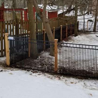 custom built fencing Baldwinsville, New York