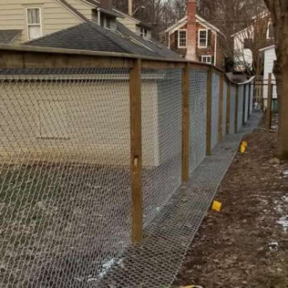 custom wood and chain link fencing new york