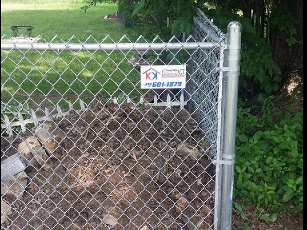Chain Link Fence Syracuse Utica Rome Ny Double K Construction